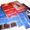 144 preservativos morango